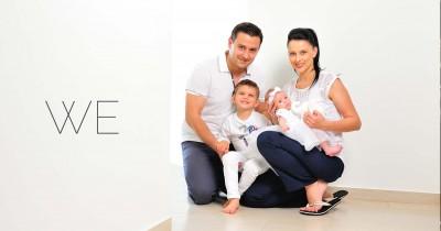 Sabrina, bine ai venit ! | Sedinta foto de familie | Corbeanca - Ilfov