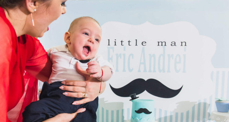 Eric | Prima sedinta foto | Fotografii in burtica, bebelus si la botez