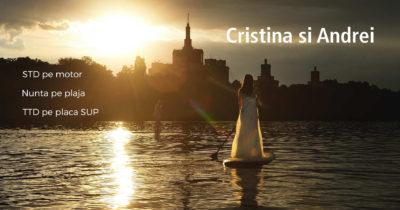 Nunta pe plaja 2 Mai | Cristina si Andrei | Marea Neagra Constanta