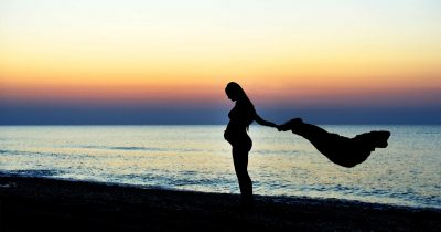 Sesiune foto gravida la mare | Plaja Vadu Constanta