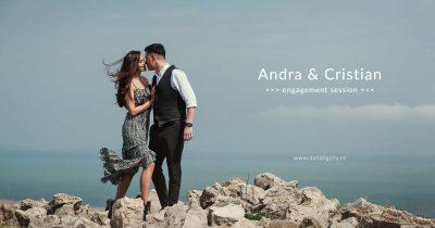 Sedinta foto de cuplu la mare cu Andra si Cristian