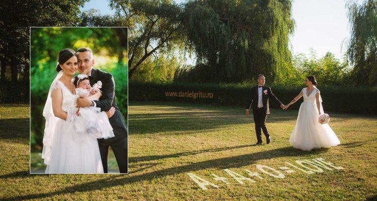 Foto nunta si botez Ploiesti | Aida, Amalia si Ovidiu | Royal Events