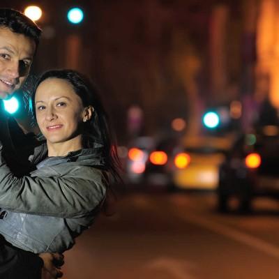 Nicu si Evelina - Sedinta foto de cuplu in Bucuresti