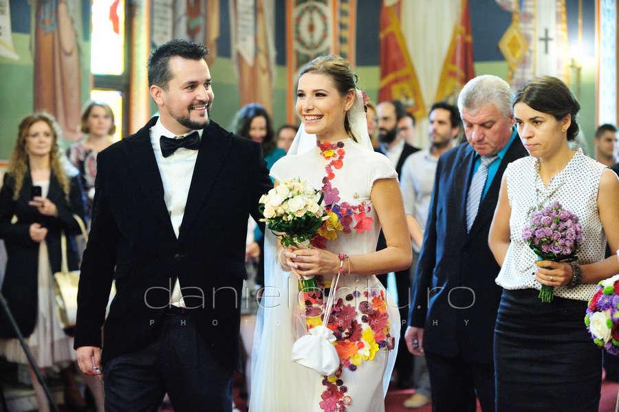 Fotograf nunta Bucuresti | Nunta Ioana Picos si Mihai Fagadaru la Militari Ballroom