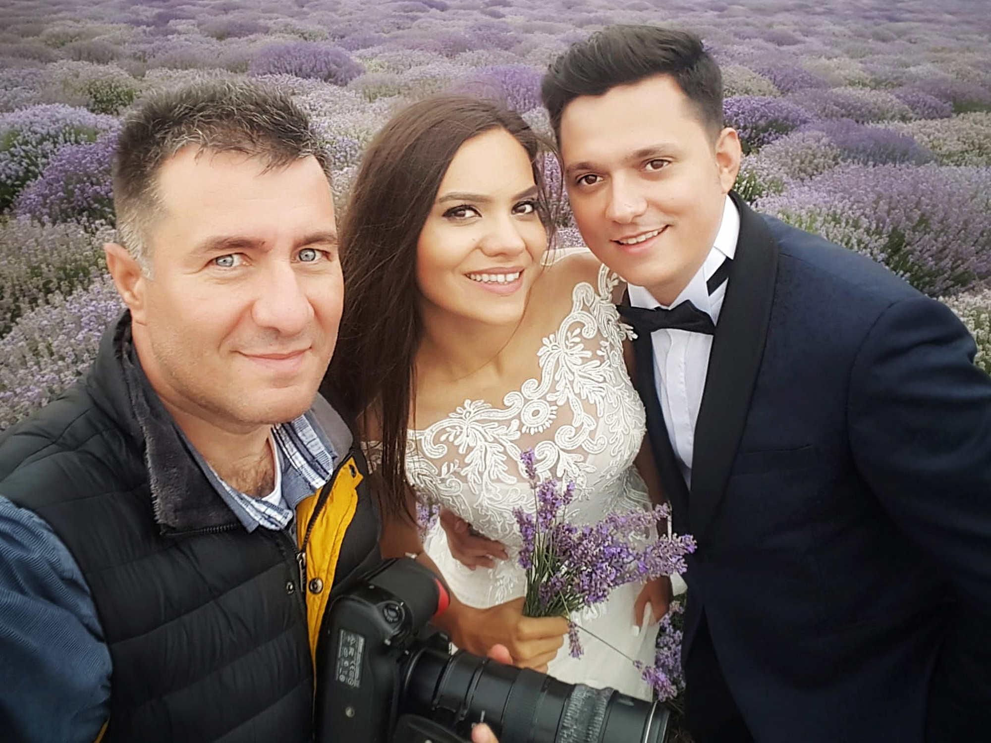 sesiune foto dupa nunta la mare bulgaria lavanda