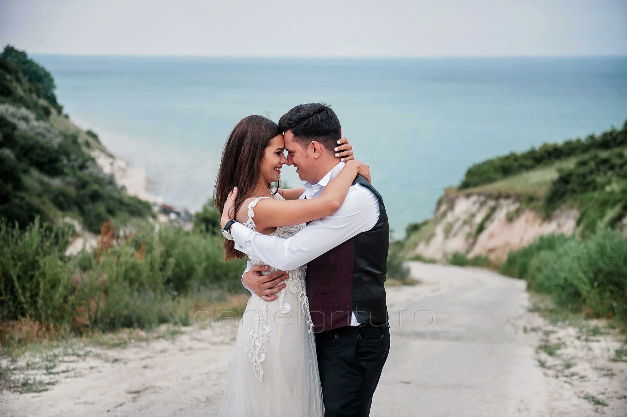 sesiune foto dupa nunta la mare bulgaria