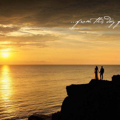 Sesiune foto dupa nunta la mare
