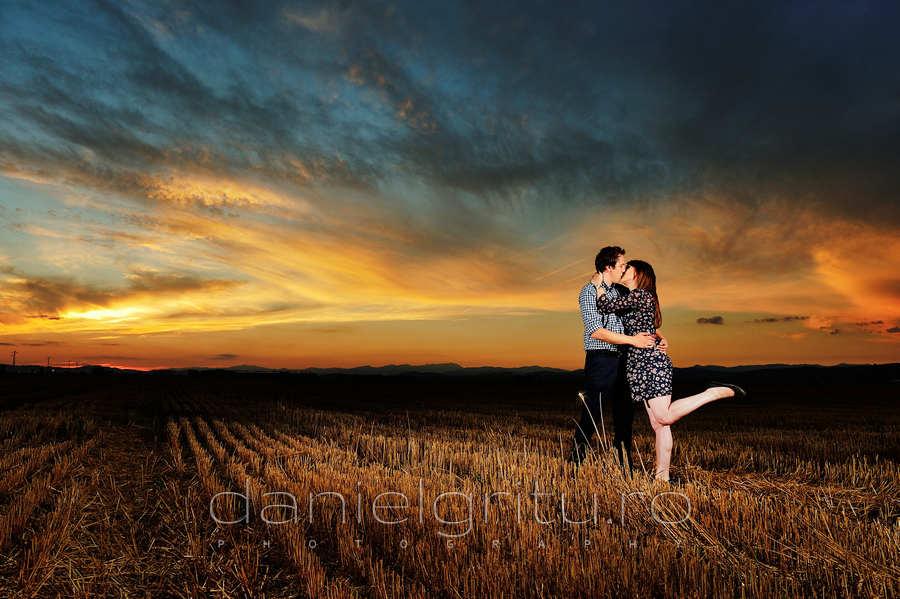 Cristina si Andrei | Sedinta foto inainte de nunta la apus