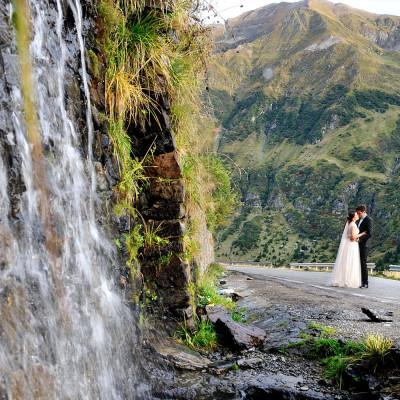 Sedinta foto dupa nunta la munte | Transfagarasan | Irina si Liviu