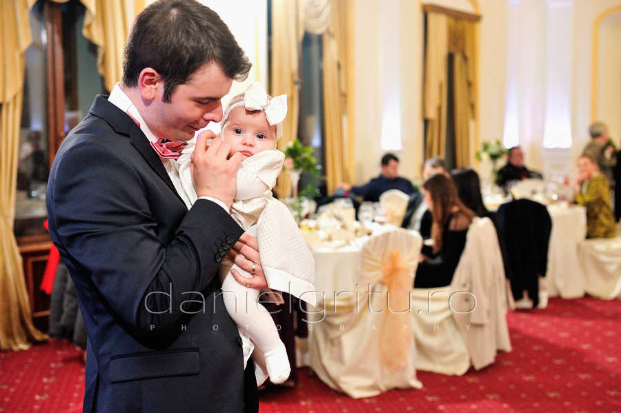 Foto botez Bucuresti | Maria Emma | Crown Cismigiu