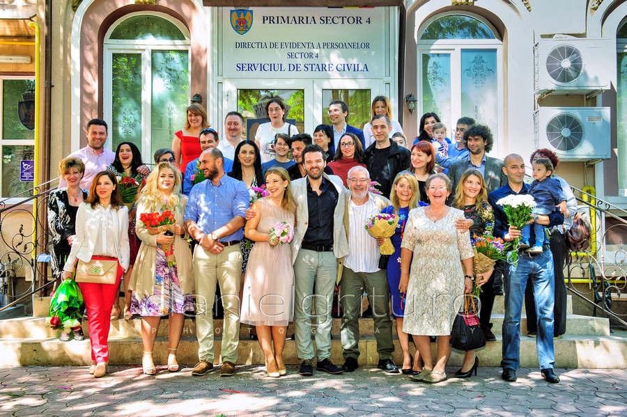 Madalina si Cosmin | Cununia civila | Bucuresti, sector 4