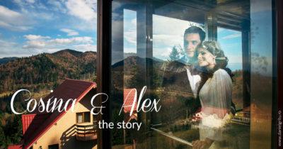 Fotograf nunta Sinaia toamna | Poveste de dragoste cu Cosina si Alex