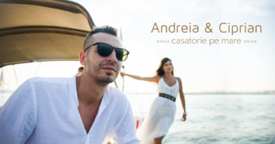 Andreia si Ciprian | Casatorie pe mare | Cununie civila pe yaht