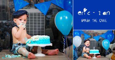 Eric la un An | Primul Tort | Sedinta Foto Smash the Cake