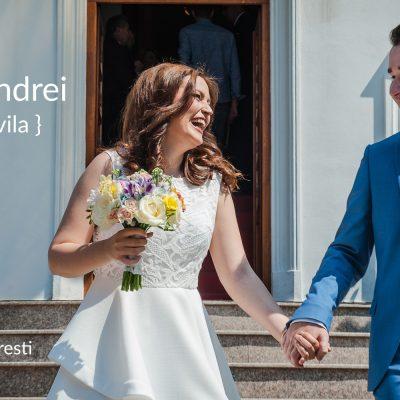 Foto cununie civila sector 3 Bucuresti cu Elena si Andrei