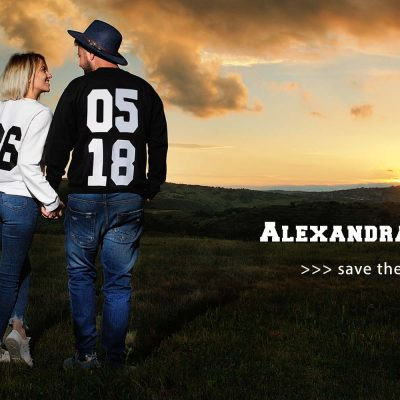 Sedinta foto de cuplu la Ferma Dacilor cu Alexandra si Sorin