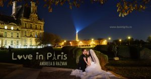 Sedinta foto dupa nunta la Paris | Trash the dress Paris