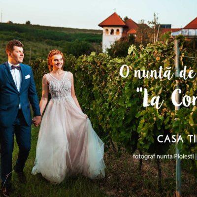 Fotograf nunta Ploiesti conac Casa Timis
