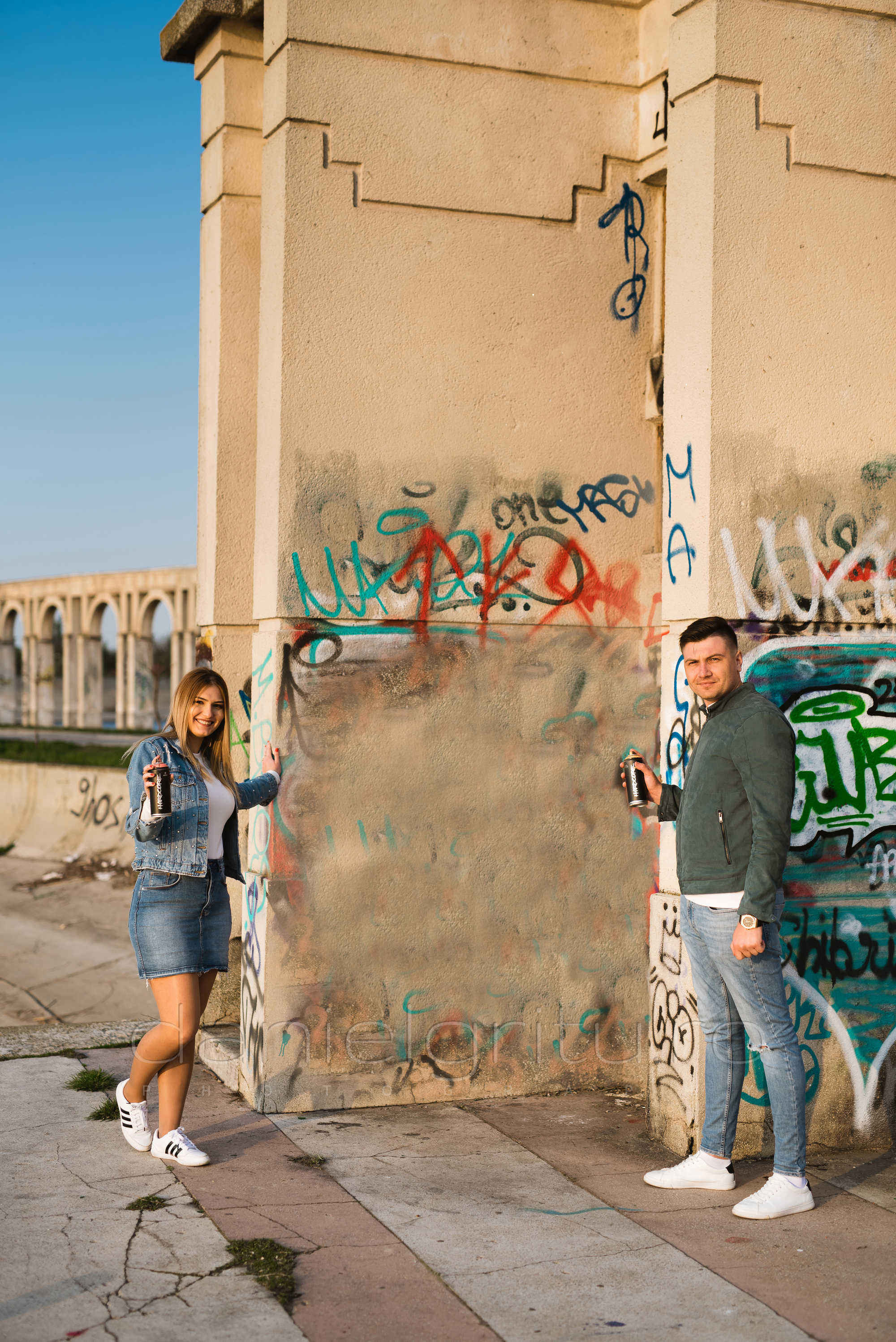 sesiune foto save the date graffiti insula lacul morii