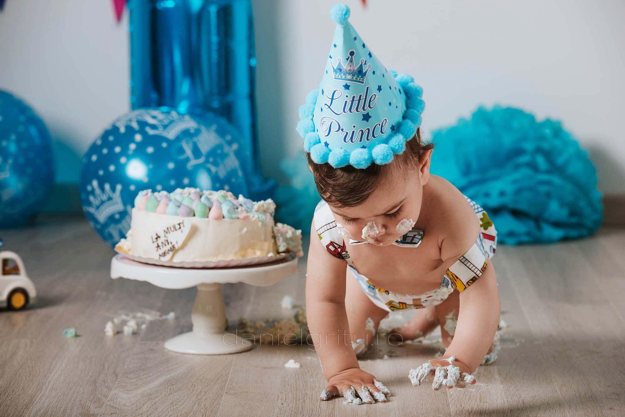 foto smash the cake