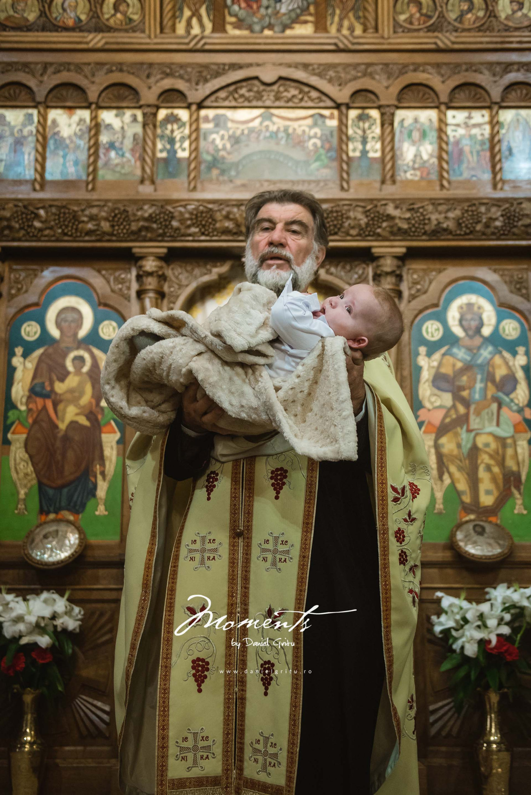 Foto botez la Palatul Stirbey