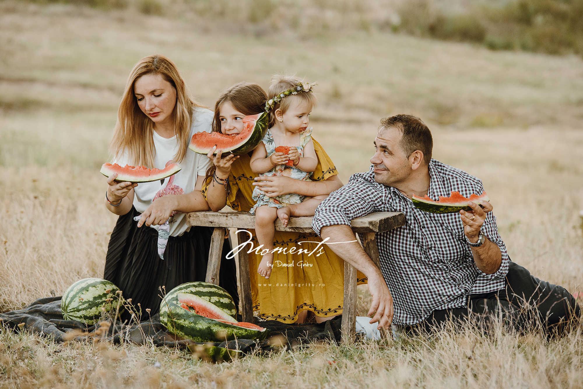 Sedinta foto familie natura